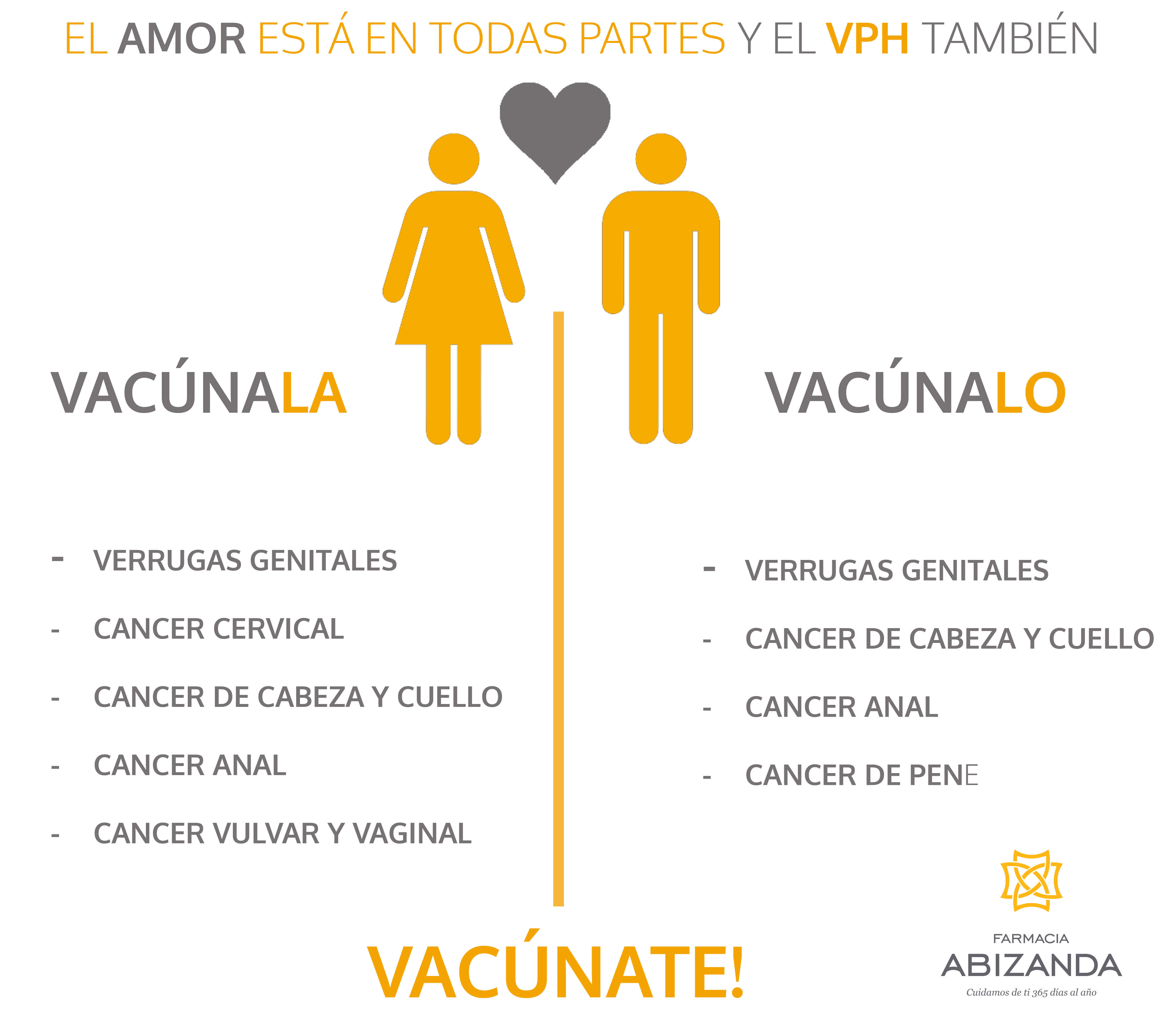 Virus papiloma humano VPH vacuna a niños y niñas